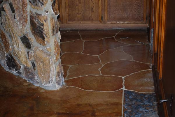 acid stain home floor midlothian tx esr decorative