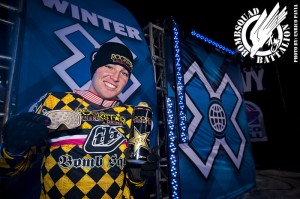 Caleb Moore Winter X Games Bronze Medal