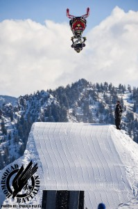 Colten Moore Winter X Games Sled Freestyle