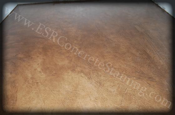Decorative Stained Concrete Floor Red Oak Tx Esr Decorative
