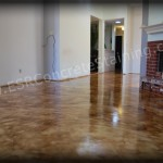 Micro Finish Acid Stained Floor