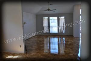 Micro Finish Acid Stained Floor