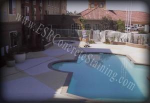 Decorative Concrete Pool Resurface