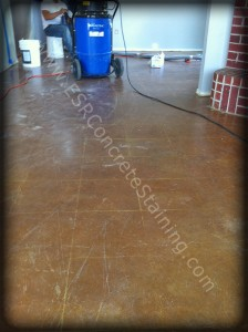 Stained Floor Repair