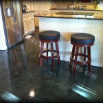Forest Green Decorative Concrete Floor