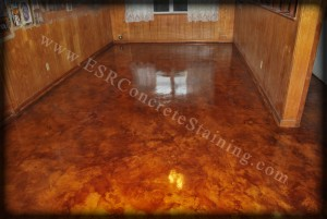 Acid Stained Microfinish Seagoville Tx Esr Decorative