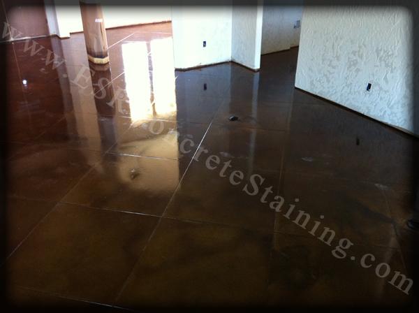Maypearl Acid Stained Concrete Floor 3 Esr Decorative Concrete Experts