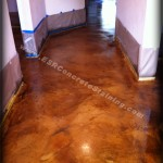 Acid Stained Concrete - Micro Finish Concrete Resurfacing