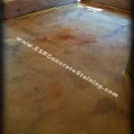 Before Sealing decorative concrete