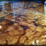 Acid Stained Decorative Concrete Floor