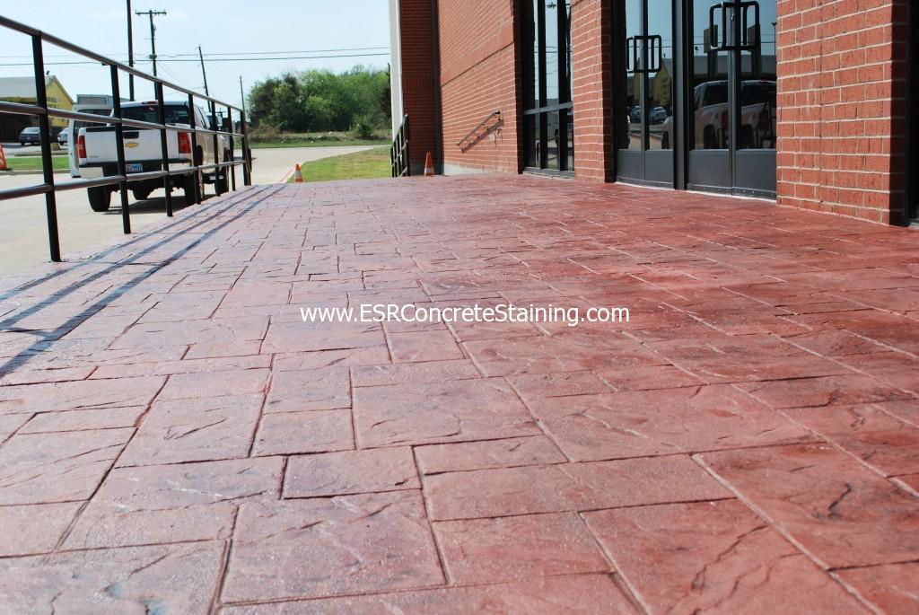 Esr Decorative Concrete Dallas Stamped Concrete Esr