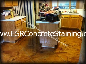 Acid Stained Micro Finish Floors