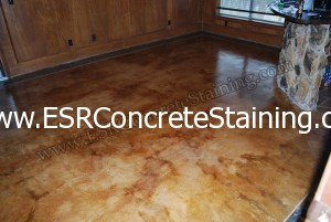 Carpet remodel - Topical Stained Border - Patched Tack Strip Holes