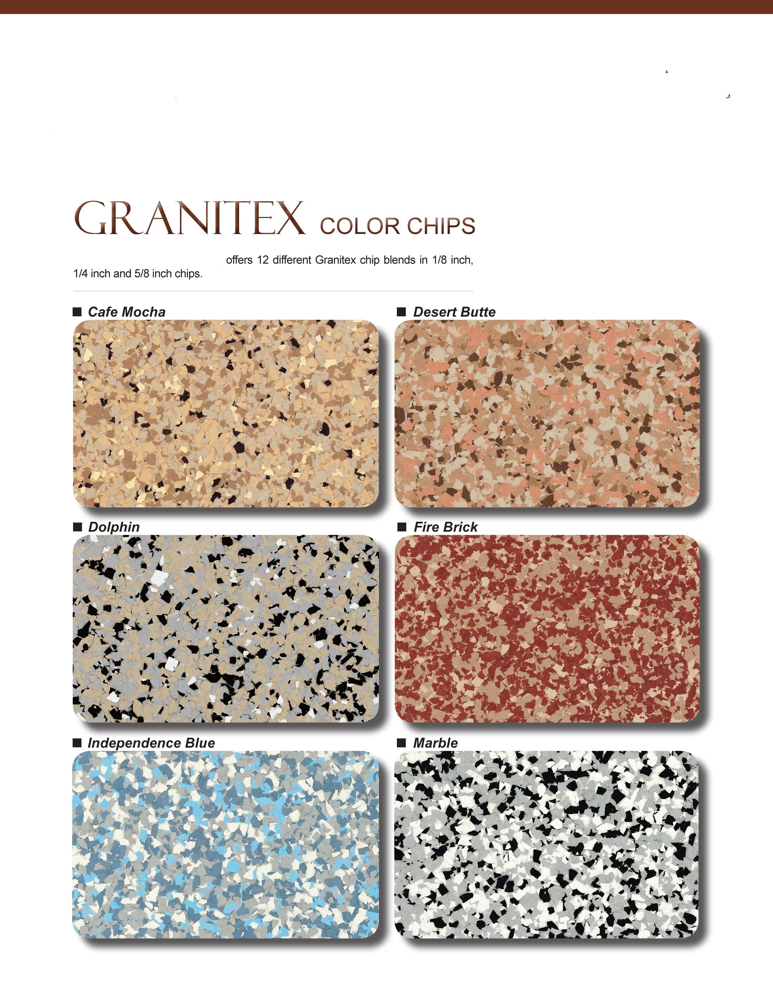 Esr decorative concrete experts epoxy floor coatings esr epoxy color chip flooring system nvjuhfo Image collections