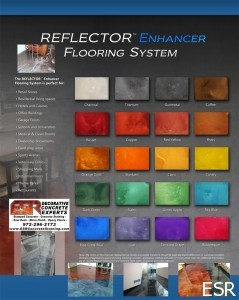 Reflector Metallic Epoxy Flooring
