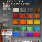 Designer Epoxy Floor - Metallic Reflector Epoxy Floor