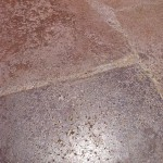 Acid Stained Concrete Repair