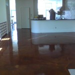 Acid Stained Concrete Restoration