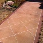 Damaged Concrete Sealer Repair
