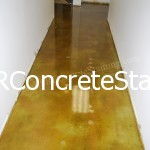 Acid Stained Concrete Floor Dallas, TX
