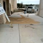 Stamped Concrete Overlay North Richland Hills