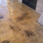 Stamped Concrete Overlay North Richland Hills