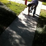 Stamped Concrete Overlay Valley Ranch, TX