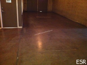 Acid Stained Floor Repair