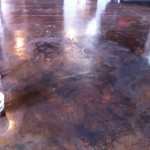 stained floor repair