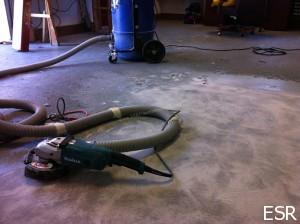 DIY epoxy flooring gone wrong