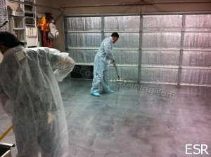 Designer Metallic Epoxy Flooring