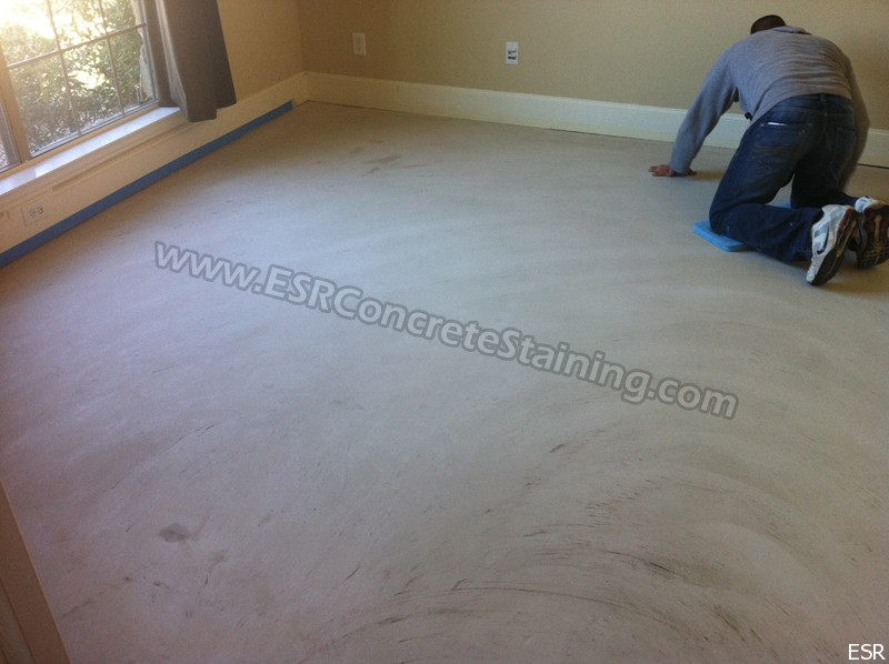 Microfinish Acid Stained Concrete Dallas Tx4 Esr
