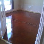 Acid Stained Cooncrete Overlay