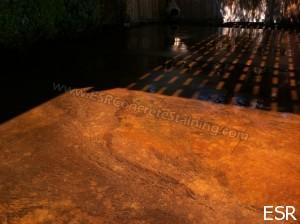 Patio Concrete Staining Coppell Tx 13 Esr Decorative