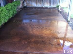 Patio Concrete Staining Coppell Tx 14 Esr Decorative