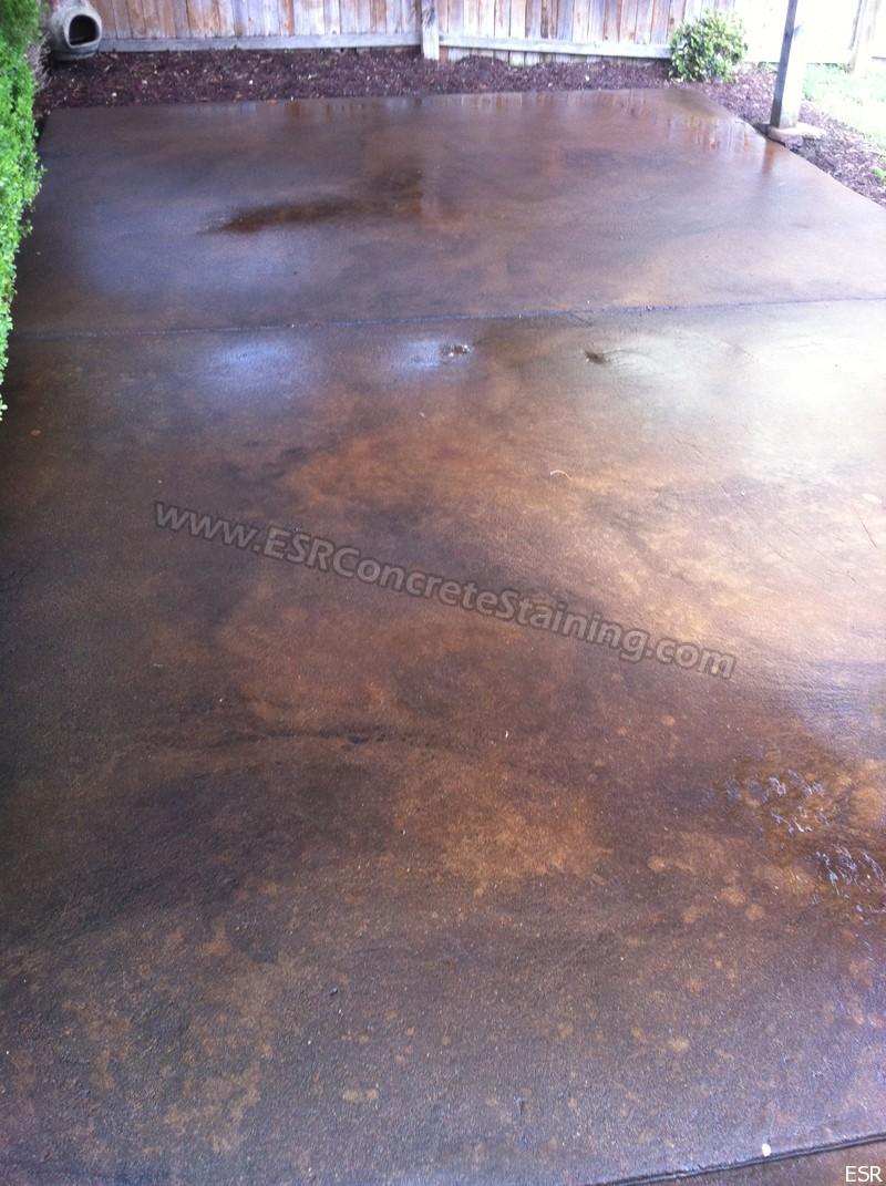 Patio Concrete Staining Coppell Tx 16 Esr Decorative