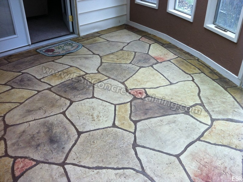 Stamped Concrete Patio Irving Tx 10 Esr Decorative