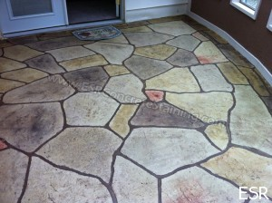Stamped Concrete Patio Irving Tx 11 Esr Decorative