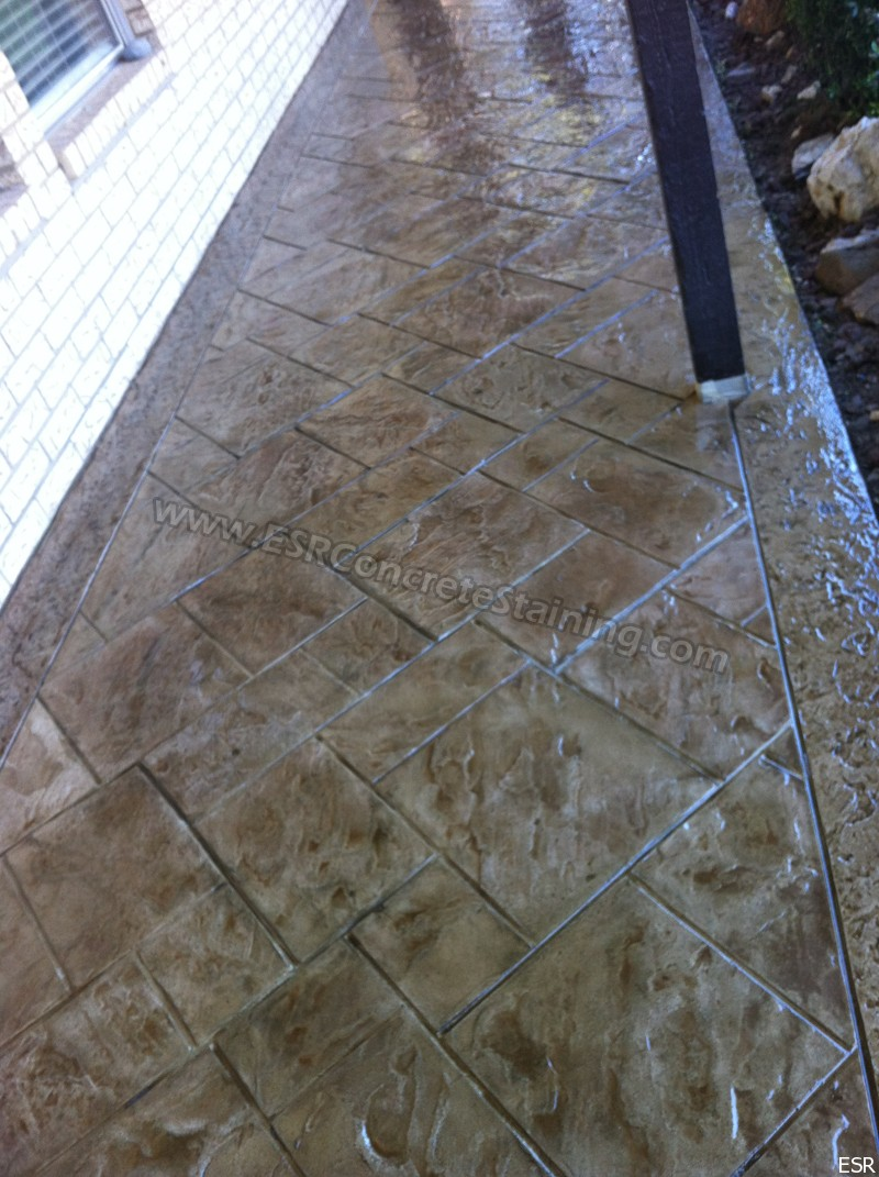 Stamped Concrete Patio Midlothian Tx 4 Esr Decorative