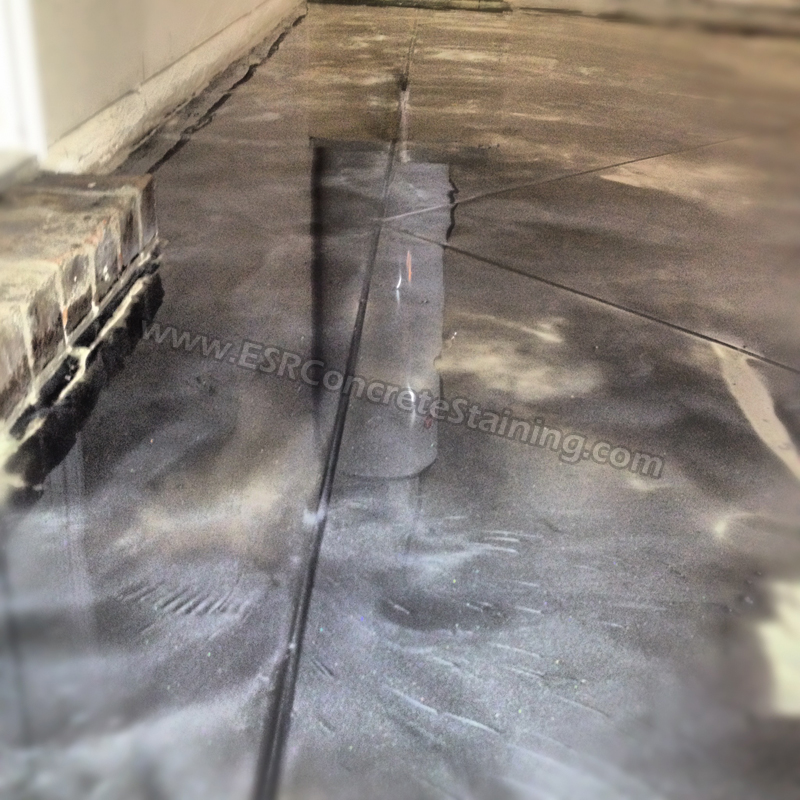 Garage Floor Metallic Epoxy Garage Floor