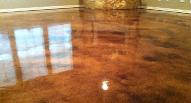 Acid Stain Concrete Dallas TX