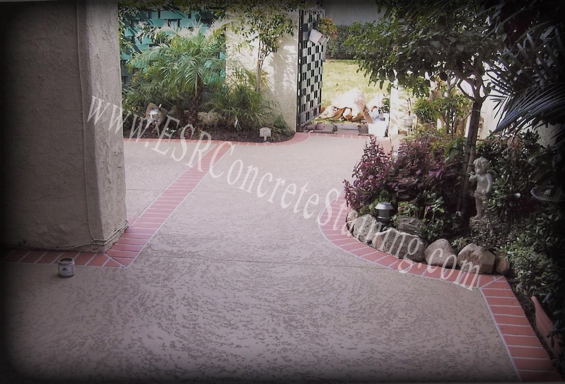 Spray Texture Cool Deck Concrete Overlay
