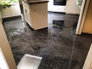 Designer Metallic Epoxy Flooring Dallas Texas
