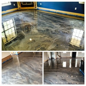 Metallic Epoxy Flooring Dallas Texas