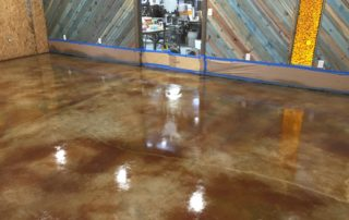 Acid Stained Concrete Frisco Texas