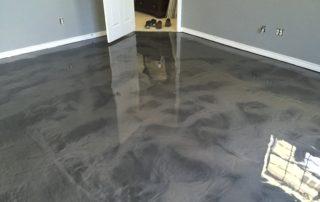Metallic Epoxy Flooring Texas