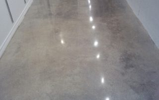 Cream Polished Concrete