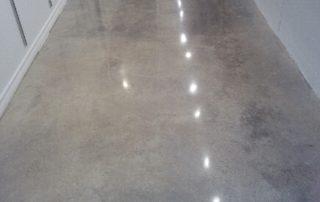 Cream Polished Concrete