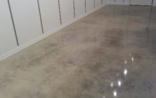 Cream Polished Concrete Flooring