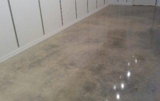 Cream Polished Concrete Flooring